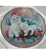 Franklin Mint Cat Plate Purrfectly Precious  - $14.00