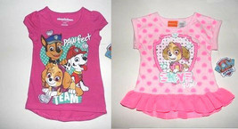 Nickelodeon Paw Patrol Toddler Girls  T-Shirts 2T or 3T NWT - $13.99