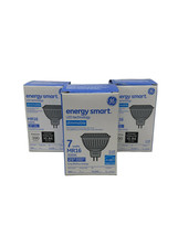 Set Of 3 General Electric GE LED Energy Smart Dimmable 7 Watt Narrow Flood Bulbs - $14.95
