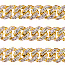 1 Kilo Solid Yellow Gold Miami Cuban Link Chain 22 MM 100 Carats Real Di... - $69,512.13