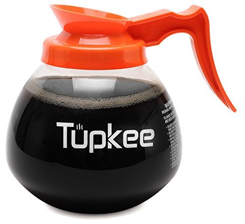 Tupkee Commercial Coffee Pot Replacement - Restaurant Glass Coffee Pots 12 Cup D