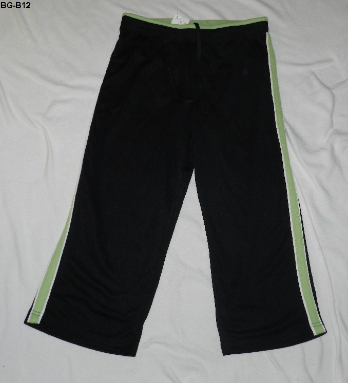 Bg b12  jay day black green spa pants