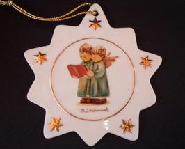 M.I. Hummel Porcelain Snowflake Ornament Angel Carolers - $13.50