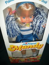 Rare Fisher Price #216 My Friend Mandy Cheerleader Doll Never Removed fr... - $110.00