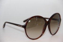 NEW TOM FORD TF 187 52P RHONDA GRADIENT AUTHENTIC SUNGLASSES 61-14 W/CASE - $236.55