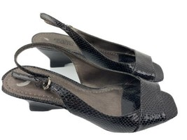 Franco Sarto Arena Textured Sandal Heel Women's Shoes Size 8 M - $15.79