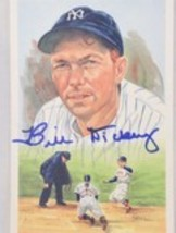 Bill Dickey (d. 1993) Autographed Perez-Steele Postcard - $39.99