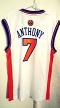 Adidas NBA Jersey New York Knicks Carmelo Anthony White sz M - $9.86+