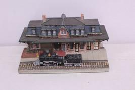 1993 DANBURY MINT THE BETHLEHEM RAILROAD STATION PANNSYLVANIA - $25.00