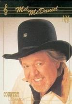 Mel McDaniel trading card (Country Music) 1992 Collect-A-Card Country Cl... - $3.00