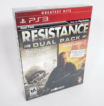 Resistance Dual Set PS3 Game PlayStation 3 New Sealed Fall of Man Resist... - $32.71