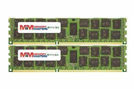 32GB (4x8GB) DDR3-1600MHz PC3-12800 ECC RDIMM 2Rx4 1.5V Registered Memory for Se - $130.52