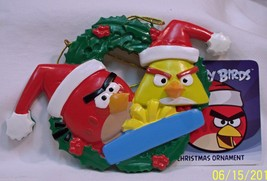 Angry Birds Family Of 2 Ornament - $12.16