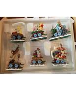 The Danbury Mint Disney Eeyore Holiday Express Christmas Tree Ornaments ... - $86.29