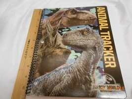 New Animal Tracker Jurassic World spiral paper notebook Home or school J... - $5.93