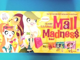 Milton Bradley Talking electronic Mall Madness Board Game Ages 9+ 2 to 4 players - $19.62