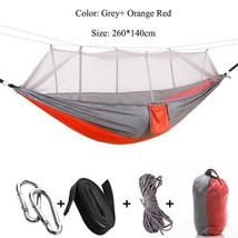 Hammock Tent Rede Outdoor Camping Hammocks Canvas Bed De Dormir Mosquito... - $32.99