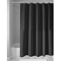 InterDesign Mildew-Free Water-Repellent Fabric Shower Curtain, Long, 72-Inch by  - $22.00