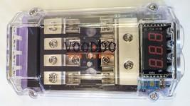 DIGITAL READOUT 4/8 AWG DISTRIBUTION BLOCK + 4 60 amp fuses - $24.74