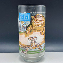 Star Wars Burger King vintage glass mug Return of Jedi 1983 Jabba Hutt M... - $22.77