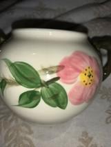 Vtg Franciscan Earthenware Desert Rose Sugar Bowl - $11.23