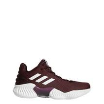 adidas Men Pro Bounce 2018 Low Basketball Shoes Burgundy AH2672 Rare Color - £61.39 GBP