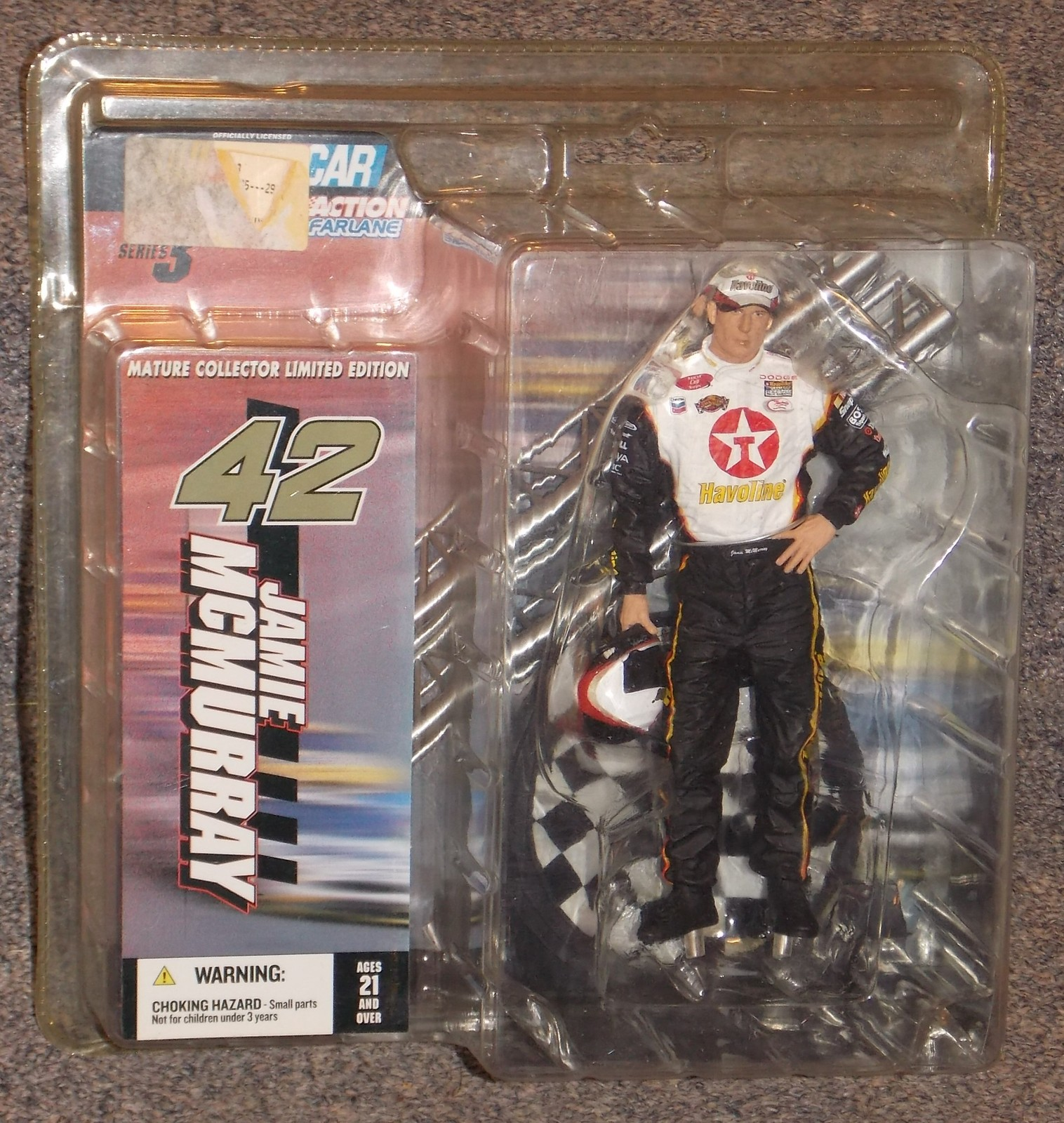 Primary image for 2004 McFarlane Nascar Jamie McMurray Action Figure New In The Package