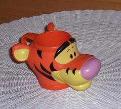 Winnie Pooh TIGGER Figural Composite Plastic Cup Mug by Applause - $8.59