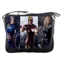 Messenger Bag Sexy And Beautiful Girl Captain America Iron Man Thor For Gaming  - $30.00