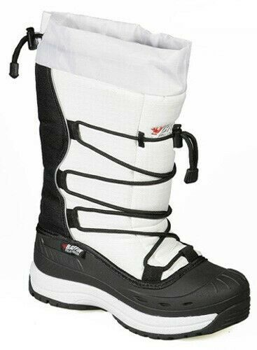 New Ladies Size 6 White Baffin Snogoose Snowmobile Winter Snow Boots Rated -40F