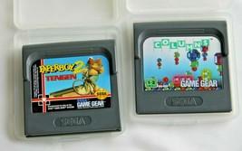 PAPERBOY 2-  Sega Game Gear Cartridge In Original Case Tengen Rare & Columns - $10.89