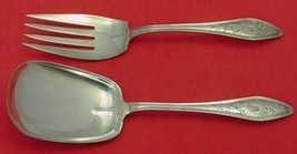 "Mary Chilton Engraved  #1 by Towle Sterling Silver Salad Serving Set 9"" ... - $247.10"