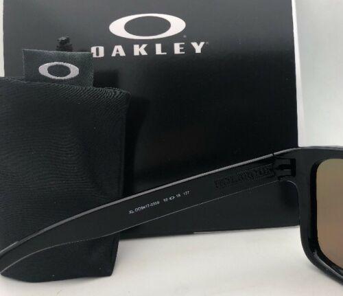 New OAKLEY Sunglasses HOLBROOK XL OO9417-0359 Black with Prizm Sapphire Iridium