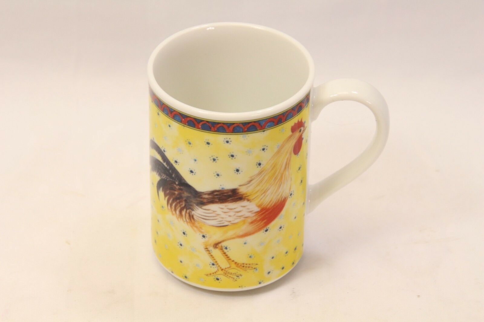 American Atelier Petite Provence Rooster Mugs Set of 12 image 2