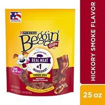 Purina Beggin' Made in USA Facilities Dog Treats, Strips Thick Cut Hicko... - $16.34 CAD