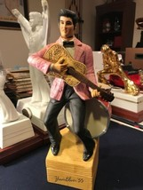 """Vintage """"Yours Elvis '55"""" Large McCormick Whiskey Decanter and Music Box F36 - $72.55"""