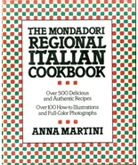 The Mondadori Regional Italian Cookbook - $15.00