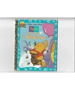 little golden book  winnie the pooh and the honey tree  - $3.22