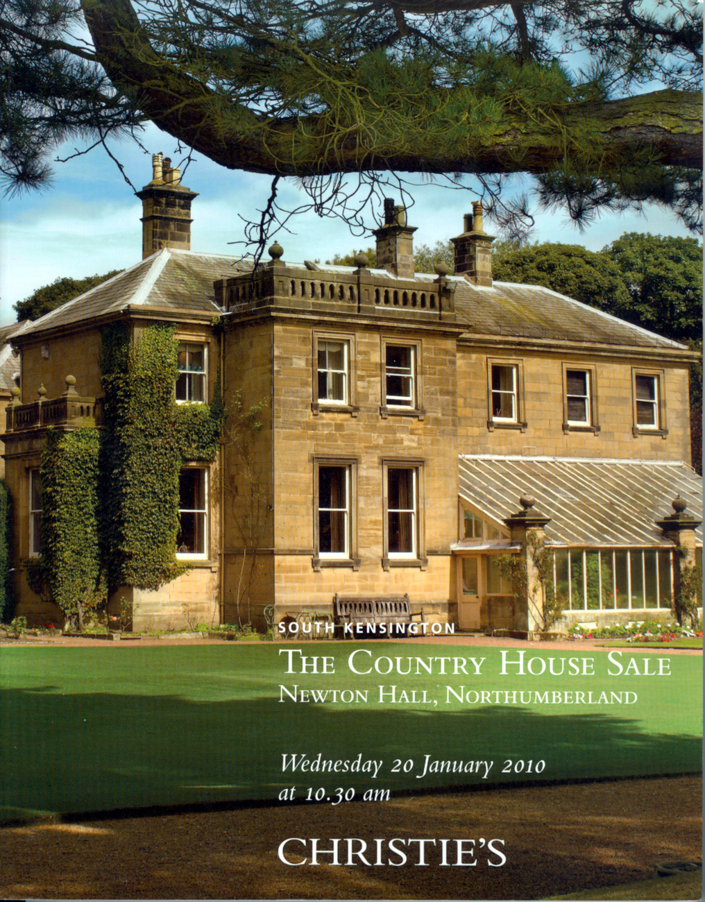 Primary image for Christie's Sale Book Newton Hall Northumberland & Content