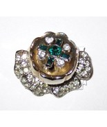 """Quivering Camellia"" Moveable Brooch. 1938-42. ... - $35.00"