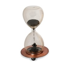 Magnetic Sand Timer Hourglass Sculpture NEW Small - $54.90