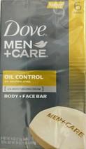 Dove Men + Care Oil Control Body & Face Bar Soaps 6 Bars 4oz. Each - $24.70