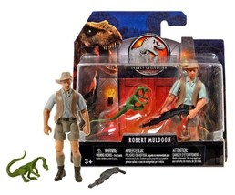 Jurassic World Legacy Collection Robert Muldoon & Compy Dinosaur New in ... - $12.88