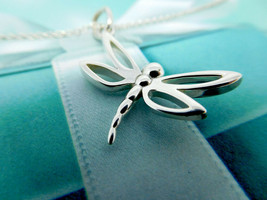 Tiffany & Co. Sterling Silver Dragonfly Necklace - $290.00