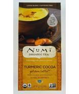 Numi Organic 2.12 oz. Golden Latte Turmeric Cocoa  Gluten Free - $18.76