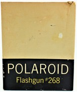 Vintage Polaroid Flashgun #268 in Original Box Untested - $8.90