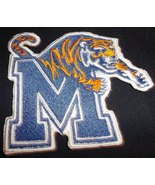 Memphis Tiger Logo Iron On Patch - $4.99