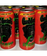 6 Gas Monkey Energy Drink Tropical Can NEW Unopened FullPints - $19.79