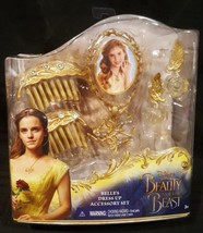 Disney Beauty And The Beast Dress Up Accessory Set Belle jewelry 2017 Pl... - $8.85
