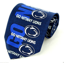 Penn State Nittany Lions Mens Neck Tie University College Marlin Blue Ne... - $31.68